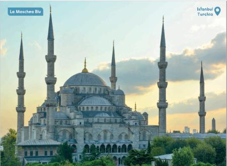 Puzzle Moschea Blu 6 Anni1-1